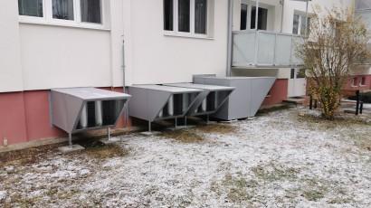Aj bytový dom môžu vykurovať tepelné čerpadlá. Naša firma vám ich nainštaluje!