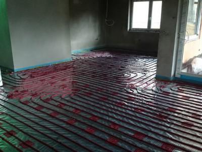 Podlahové kúrenie Myjava