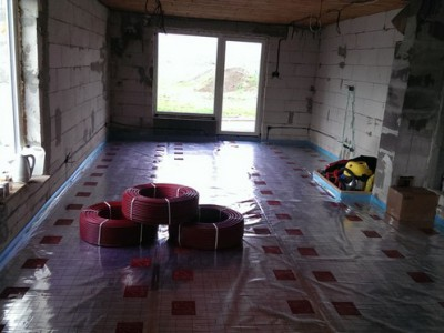 Podlahové kúrenie v Beluši