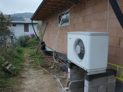 Inštalácia tepelného čerpadla Dlhé Pole
