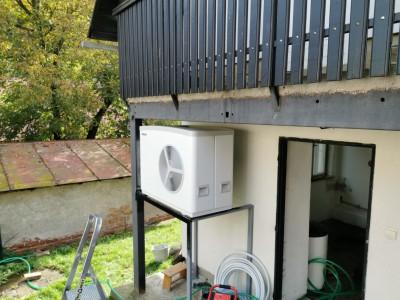 Výmena kotla na tuhé palivo za tepelné čerpadlo