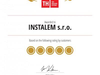 Certifikát EXCELLENCE 2014