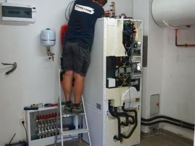 Inštalácia tepelného čerpadla Košecké Podhradie