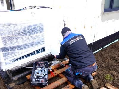 Inštalácia tepelného čerpadla Dohňany